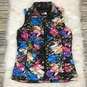 The North Face Thermoball Floral Vest Small